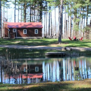 Cabin with Pond at Buck Run